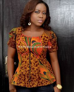 Weekend Special: The Latest Must Have Breathtaking Ankara Styles - Wedding Diges. Weekend Special: The Latest Must Have Breathtaking Ankara Styles - Wedding Digest Naija African Fashion Ankara, Latest African Fashion Dresses, African Print Dresses, African Dresses For Women, African Print Fashion, African Wear, African Attire, African Blouses, African Tops