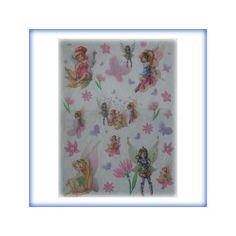 carta di riso per decoupage 35x50 fairies