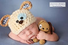 Puppy Stuffed Toy  Stuffie  Newborn by EastCoastStitches on Etsy