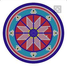 Beach Mat, Coasters, Outdoor Blanket, Crochet, Ideas, Painting & Drawing, Mandalas, Paintings, Drawings