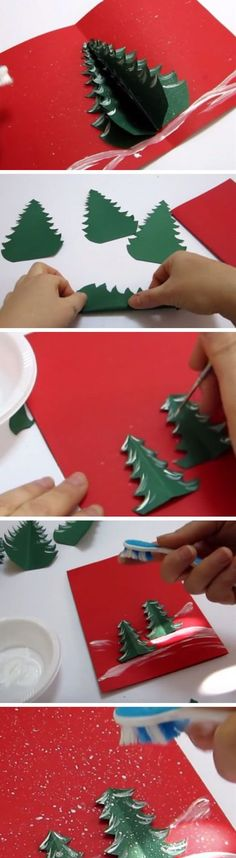 Pop Up Xmas Tree Card