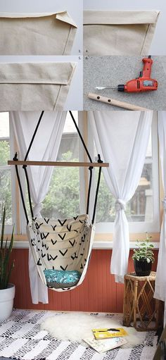 ¿Sueñas con un columpio en casa? http://www.bohodecochic.com