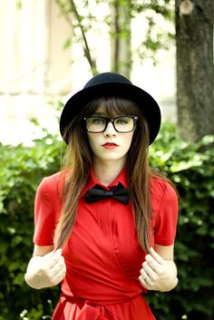This Outfit (Except for the Glasses Bcuz I Already Have Prescription Glasses Like Those Except Mine are Red)