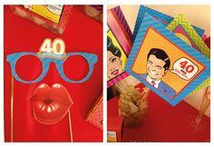 Parti Gözlükleri | 40 yaş doğum günü | 40th birthday