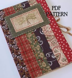 Hey, I found this really awesome Etsy listing at https://www.etsy.com/listing/72063730/journal-cover-pdf-pattern-direct