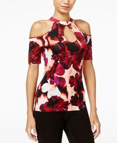 Guess Janell Cold-Shoulder Top