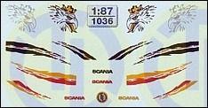Scania Fahrerhaus Dekor 1:87, 5,95 €