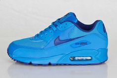 NIKE AIR MAX 90 GS (PHOTO BLUE) - Sneaker Freaker