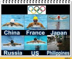 Russia / funny pictures :: swimming :: countries :: float :: philippines / funny pictures & best jokes: comics, images, video, humor, gif animation - i lol' Filipino Memes, Filipino Funny, Swimmer Memes, Tagalog Quotes, Funny Memes, Jokes, Happy Puppy, Sports Humor, More Fun
