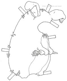 종이인형 (hedgehog) : 네이버 블로그