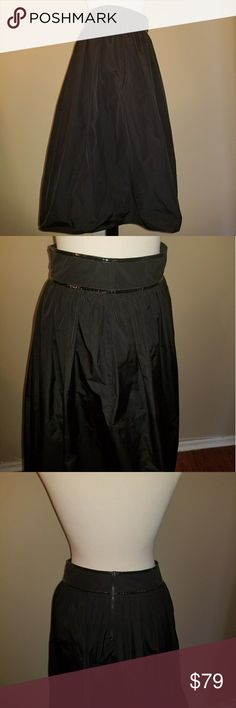 Burberry patent trim Taffeta full skirt size 6 From smoke and pet free home. Burberry Skirts A-Line or Full