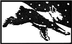 Lynita Shimizu  Happy Sidney - Old English Sheepdog  Paper: Yamaguchi Hosho Block: Shina Plywood (1block) Ink: Sumi Linoprint, Sketch Books, Animal Illustrations, Lino Cuts, Block Prints, Negative Space, Woodblock Print, Medium Art, Pet Shop