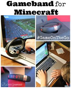 Gameband for Minecraft #GameOnThe Go ~ The Perfect Gift for the Minecraft Lover in you Family @MyGameband #shop #cbias #CollectiveBias http://www.3littlegreenwoods.com