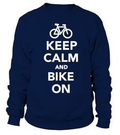# bicycle bicycling cycling Cycle cyclist bike biking biker ride T Shirt .  Bicycle - Keep calm and bike on T-shirtHOW TO ORDER:1. Select the style and color you want: 2. Click Reserve it now3. Select size and quantity4. Enter shipping and billing information5. Done! Simple as that!TIPS: Buy 2 or more to save shipping cost!This is printable if you purchase only one piece. so dont worry, you will get yours.Guaranteed safe and secure checkout via:Paypal | VISA | MASTERCARD