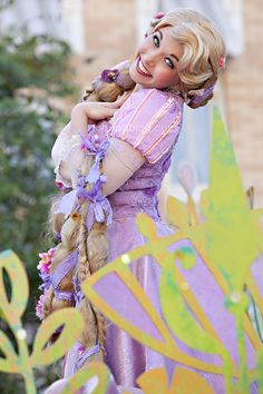 Disneyland // Mickey's Soundsational Parade // Tangled // Rapunzel