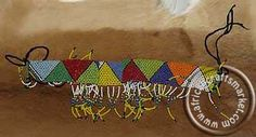 African Zulu beaded belts