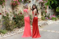 fuchsia bodycon dress , open back dress, strapless dress, prom dress evening dress, bow tie, red dress