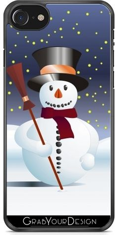 @GrabYourDesign - #Case for #Iphone 7/8 #Snowman for #Xmas - by# pASob http://www.grabyourdesign.com/product.php?product=3112&m1=1&m2=1&m3=I7-7S #GrabYourDesign