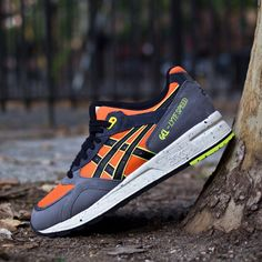 Asics Gel Lyte Speed Safety Yellow