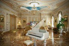 Third floor music room