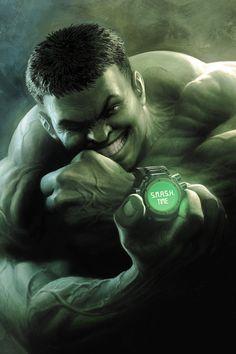 Indestructible Hulk #15 cover by Nisachar on DeviantArt