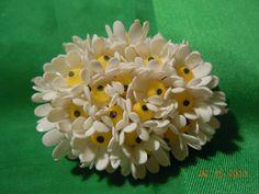 Vintage Large Flower Brooch by Peggysvintage on Etsy, $12.99