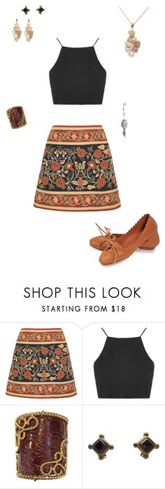 """""""Laramae's Outfit for Audrianna's Baby Shower"""" by thesassystewart on Polyvore featuring Tory Burch, Topshop and Loewe"""