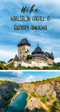 Discover the historical side of Czech Republic from the famous Karlstejn castle and the surprising beauty of abandoned limestone quarries Amerika Limestone Quarry, Day Trips From Prague, Local Tour, Discount Travel, Stunning View, Tour Guide, Czech Republic, Countryside, Abandoned