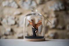 Origami Sculpture Dragon Copper. Game of Thrones. Medieval Christmas Decor. Taxidermy. Daenerys. Fathers Day. Gift for Him. Curiosity by FlorigamiShop on Etsy https://www.etsy.com/ca/listing/241451681/origami-sculpture-dragon-copper-game-of