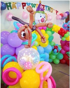 Carnival balloon decor #carnival #balloon #decor #decoration