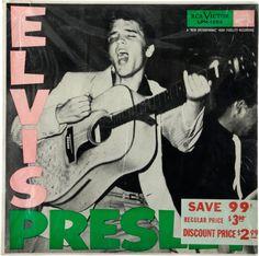 Elvis Presley - Sealed Copy of Elvis' First Album (RCA  LPM-1254, 1956)