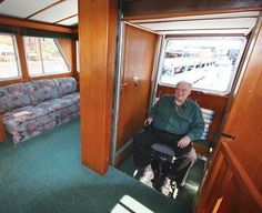 Wc accessible house boat. >>> See it. Believe it. Do it. Watch thousands of spinal cord injury videos at SPINALpedia.com
