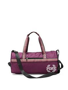 Travel Fashion Lightweight Large Capacity Duffel Portable Waterproof Foldable Storage Carry Luggage Tote Bag Pumpkin Orange Texture