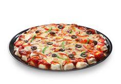 Tired of plain perogies? Perogy Pizza! - Cheemo website has many MORE recipes for PEROGIES!