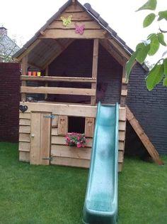 Bekijk de foto van lalalinda met als titel Leuk speelhuis! en andere inspirerende plaatjes op Welke.nl.