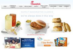 31. For a while, my brand journey with Chick-fil-A stagnated as my impression of the chain could be summed up as one that adopts a theme of classic southern food that shows a minor interest in providing offerings that appeal to a health conscious crowd (without actually being healthy).