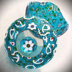 «Azure Sugarbowl #azure #sugarbowl #sweetlife #handmade #handpainted #paintedwithlove #withlove…»