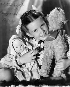 Margaret O'Brien classic child actress photos