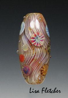 15 Murrini  Glass Bead von lisafletcher auf Etsy