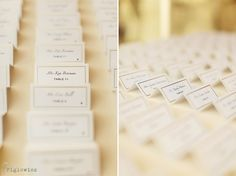 simple, pretty place cards