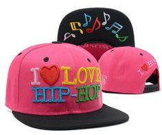 Hot sale I Love HIP-HOP snapback hats 2014 new fashion hip hop hat cap baseball for casual men plo women $9.99