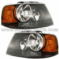 Four Winds Hurricane 2000-2003 RV Motorhome Right Side Replacement Front Headlight Head Lamp with Bulbs Passenger