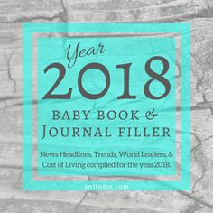 2013 News headlines, trends, world leaders, and cost of living compiled for A resource for baby books and other commemorative projects. Memory Journal, Book Journal, Journals, Best Blogs, Mom Blogs, Popular Girl Names, Baby Cost, Cost Of Living, Frugal Living