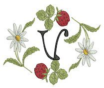 {Strawberry Font V K.H.}  Welcome to Betty''s Original Embroideries - Amazing Designs Affordable Prices