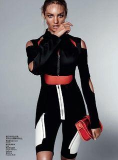 Vogue China - Urban Sports. REFLECTIVE ZIPS?!