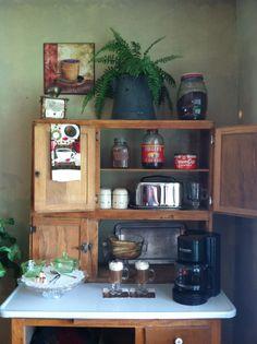 Coffee Station using Hoosier