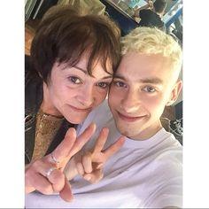 Olly & his mum