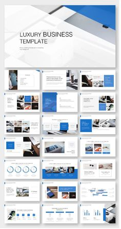 Blue Business Annual Report PowerPoint Template – Original and high quality PowerPoint Templates d Design Websites, Web Design Tips, Web Design Tutorial, Powerpoint Design Templates, Presentation Layout, Presentation Templates, Magazine Ideas, Page Web, Web Design Quotes