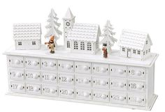Opening up advent calendars in the lead up to Christmas is a beautiful family tradition. We have handpicked the best wooden Christmas advent calendars, so you can continue this tradition and make memories for years to come! Christmas Bells, Christmas Countdown, Christmas Art, Christmas Projects, Christmas Holidays, Christmas Decorations, Christmas Lights, Xmas, Wooden Advent Calendar