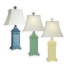 Coastal Shutter Table Lamp
